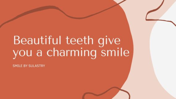 Beautiful teeth give you a charming smile